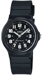 Casio Standard Collection WR Analog Watch - Black and White