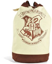 Harry Potter - Hogwarts School Houses Crest Badge Emblem Duffle Bag Sack - Cover