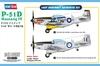 Hobbyboss 1:48 - P-51D Mustang IV Fighter (Plastic Model Kit)