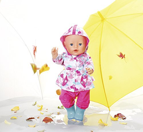 Baby Born Deluxe Fun In The Rain Doll Clothing Set