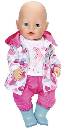 baby born deluxe fun in the rain doll clothing set hobbies