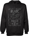 AC/DC - Cannon Swig Mens Pullover Hoodie - Black (X-Large)