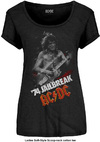 AC/DC - Jailbreak Ladies Scoop Neck T-Shirt - Black (Small)