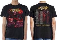 Anthrax - Bloody Eagle Men's T-Shirt - Black (Medium) - Cover