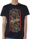 Anthrax - Evil King Men's Black T-Shirt - Black (XX-Large)