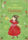 Little Sticker Dolly Dressing Christmas - Fiona Watt (Paperback)