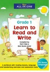 New All-In-One Learn to Read and Write For Grade 1 - Mart Meij (Paperback)