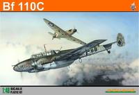 Eduard Kit 1:48 Profipack - Bf 110C (Plastic Model Kit) - Cover
