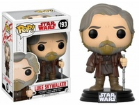 Funko Pop! - Funko POP! Star Wars Episode 8 The Last Jedi - Luke Skywalker Bobble Head 10cm - Cover