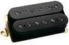 DiMarzio DP220FBK D Activator Bridge F-Spacing Humbucker Electric Guitar Pickup - Bridge (Black)