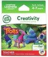 LeapFrog Learning Game -Trolls (for LeapPad Platinum, LeapPad Ultra, LeapPad2, LeapPad3)