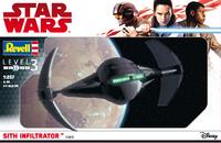 Revell 1:257 - Star Wars Sith Infiltrator (Plastic Model Kit) - Cover