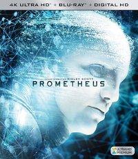 Prometheus (Region A - 4K Ultra HD + Blu-Ray) - Cover