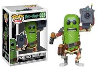 Funko Pop! Animation - Rick & Morty - Pickle Rick With Laser Vinyl Figure - Cover