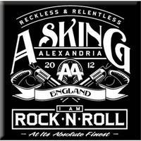 Asking Alexandria Rock N Roll Fridge Magnet