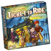 Ticket to Ride - First Journey (Board Game) - Cover