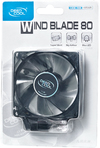 Deepcool Wind Blade 80 80mm Case Fan with Blue LED