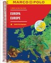 Europe Marco Polo Road Atlas - Marco Polo (Paperback)