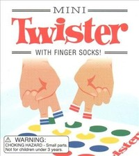 Mini Twister - Running Press (Game) - Cover