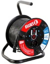 Ellies - 30m Ext.Reel With Surge (1.5mm) (250V ~2 x 16A/ 1 x 5A)