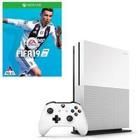 Microsoft - Xbox One S 1TB Console - Includes FREE FIFA 19 (White)