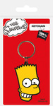 The Simpsons - Bart Rubber Keychain Cover