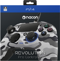 Nacon - Revolution Pro Gaming Controller - Cammo Grey (PS4) - Cover