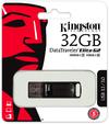 Kingston Technology DataTraveler Elite G2 32GB USB 3.0 (3.1 Gen 1) Type-A USB Flash Drive - Black