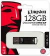 Kingston Technology DataTraveler Elite G2 128GB USB 3.0 (3.1 Gen 1) Type-A USB Flash Drive - Black