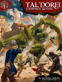 Critical Role: Tal'Dorei Campaign Setting (Role Playing Game) - Cover