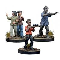 The Walking Dead: All Out War - The Walking Dead: All Out War - Maggie, Prison Defender Booster (Miniatures)