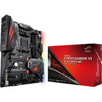 ASUS ROG CROSSHAIR VI EXTREME AM4 AMD X370 SATA 6Gb/s USB 3.1 Extended ATX AMD Motherboard