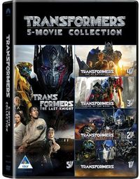 Transformers: 5 Movie Collection (DVD) - Cover