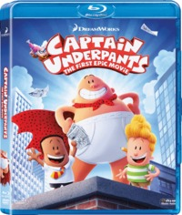 Captain Underpants (Blu-ray) - Cover