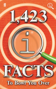 1,423 QI Facts to Bowl You Over - John Lloyd (Hardcover) - Cover