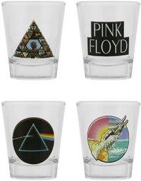 Pink Floyd - Mix Shot Glasses (Set of 4) - Cover