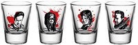 The Walking Dead - Characters Shot Glasses (Set of 4) - Cover