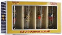 Wonder Woman - Stars Mini Glasses (Set of 4) - Cover