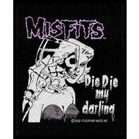 The Misfits - Die Die My Darling Sew On Patch