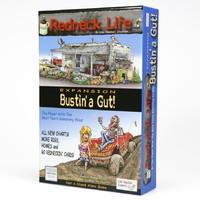 Redneck Life: Bustin' A Gut! Expansion (Board Game) - Cover