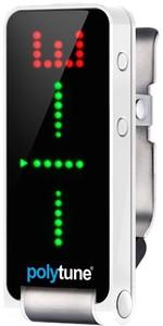 TC Electronic PolyTune Clip Clip-On Guitar Tuner (Silver) - Cover