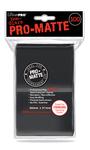 Ultra Pro - Pro-Matte Black Standard Deck Protectors - Black - 100ct