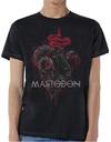 Mastodon - Rams Head Colour Mens Black T-Shirt (Medium)