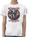 Motley Crue - Every Mothers Nightmare Mens White T-Shirt (XX-Large)