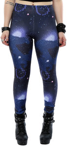 Star Wars - The Force Awakens Galaxy Pattern Leggings (X-Small) - Cover