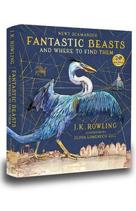 Fantastic Beasts and Where to Find Them - J. K. Rowling (Hardcover) - Cover