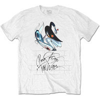 Pink Floyd - The Wall Teacher Mens White T-Shirt (XX-Large) - Cover