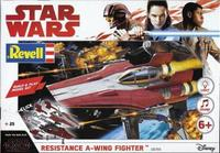 Revell - Star Wars Build & Play Resistance A-Wing Fighter - Cover