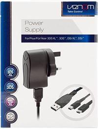 Venom - Universal 3DS Power Supply (3DS XL / 3DS / DSi XL / DSi) - Cover