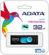 ADATA UV320 32GB USB 3.1 (3.1 Gen 2) Type-A USB flash drive - Black/Blue